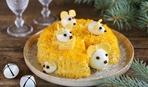 Готовимся к году мыши: салат «Счастье мыши»