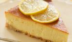 Лимонный чизкейк с печеньем