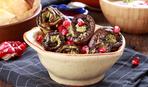 Рулетики из баклажанов с печенью (готовим в пароварке)