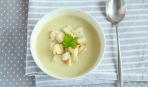 Мятный крем-суп с цветной капустой
