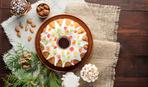 Рождественский кекс с цукатами и мармеладом