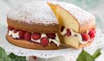 Бисквитный торт в скороварке