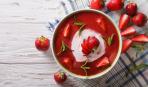 """Необычный десерт на скорую руку - """"Клубничный суп"""""""