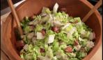Салат с салями и артишоками