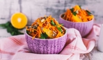 Салат морковно-апельсиновый
