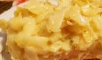 Кугель из лапши с яблоками