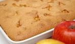 Воздушный пирог с сушеными яблоками