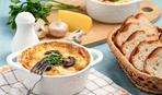 Жульен с морепродуктами и грибами