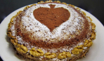 Торт «Пиковая дама» на Масленицу