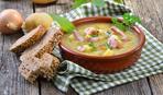 Суп с сосисками «Вива Италия»