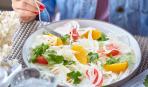 Постное меню: салат из фенхеля и грейпфрута (теплый)