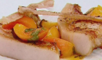 Мраморная свинина с абрикосами