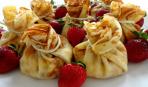 Блинчики с ягодами на Масленицу