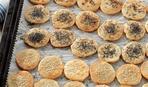 Сырное печенье за полчаса