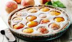 """Десерт дня: творожно-фруктовый пирог """"Персики в решете"""""""
