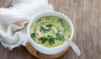 Первые блюда: суп-пюре из кедровых орешков
