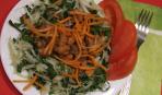 Мясо с фасолью в томате.