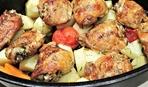 Куриные бедрышки в сырной корочке