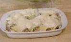 Каннеллони со шпинатом и рикоттой