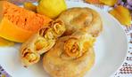 Осенняя выпечка по-молдавски: вертуты с тыквой и яблоком