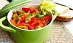 Теплий салат з курячого філе та сезонних овочів «Магнум»
