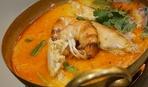 Суп сырный с шафраном и креветками для борьбы с депрессией