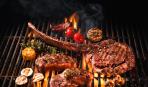 Барбекю-ассорти: из курицы, свиных ребрышек, бараньих ножек