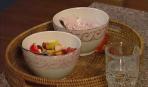 Мюсли с фруктовым йогуртом