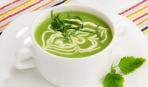 Суп с зеленым горошком и тархуном