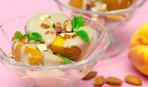Персики с кремом