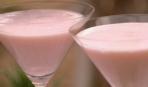 Кремовый коктейль с ревенем и водкой