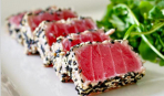 Вкуснейший жареный тунец в кунжутной панировке