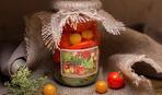Маринованные помидоры с алычой - красные и желтые рулят!