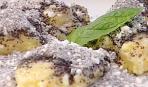 Яблочно-грушовые галушки с маком