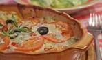 Камбала под молочным соусом
