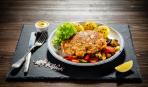 Шикарные отбивные котлеты «Южные» с мясо-овощной начинкой