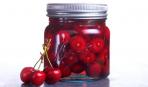 Элементарный рецепт: маринованная вишня