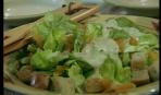 Салат «Ромен» с заправкой из козьего сыра