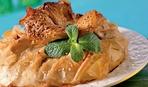 Валлийский пирог с бараниной, беконом и картофелем