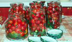 Маринованные помидоры быстрого приготовления