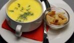 Блюдо дня: суп-пюре из моркови и плавленого сыра