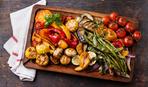 Запечeнные овощи в маринаде
