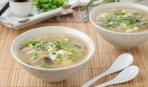 Китайская кухня: яично-грибной суп