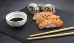 Суши с тунцом и сашими от Шеф-повара из Японии