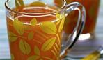 Компот персиковый с ванилью