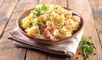Брюшки лосося, запеченные с картошкой - идея сытного ужина