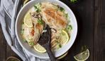 Рецепт дня: куриная грудка в граппе и сливках