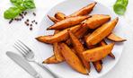 Запечённые картофельные дольки