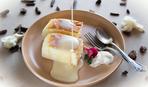 Творожное суфле с печеньем