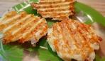 Фото-рецепт: сырные оладьи